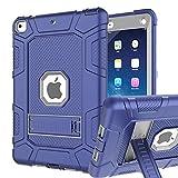 iPad 6th Generation Cases, iPad Case, iPad 9.7 Inch Case, Hybrid Shockproof Rugged Drop Protect…