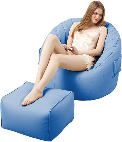 Bean sac Chaise Intérieur Extérieur Enfant Enfant Jeu De Jardin Coussin De Plancher De Jardin (Couleur   Sky bleu)