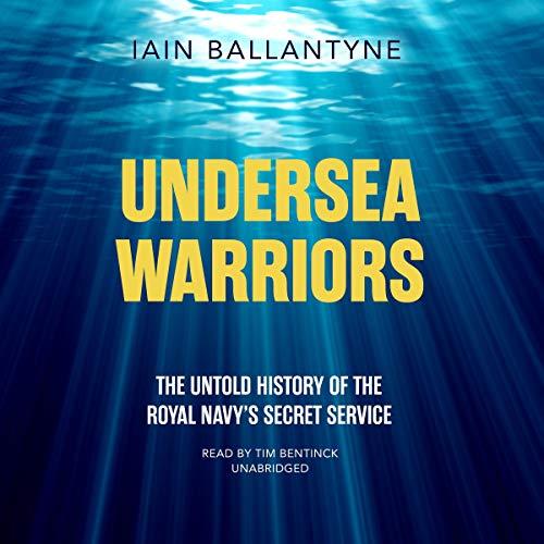 Undersea Warriors audiobook cover art