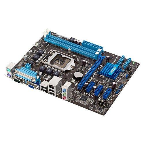 Asus P8H61-M LX R2.0 Mainboard Sockel 1155 (Micro ATX, Intel H61, 2X DDR3 Speicher, 4X SATA II, 8X USB 2.0)
