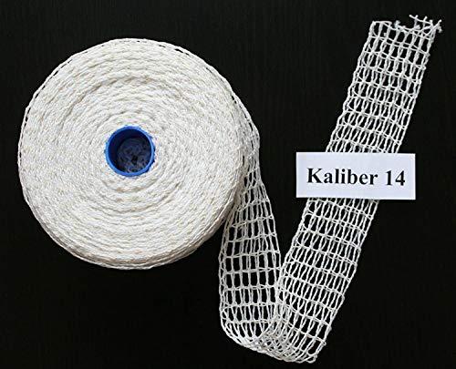50m Kaliber 14 Bratennetz/Rollbratennetz/Räuchernetz für Einfüllrohr mit einem Durchmesser von ca. 100 bis 110 mm