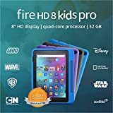 Introducing Fire HD 8 Kids Pro tablet, 8' HD, ages 6–12, 32 GB, Doodle