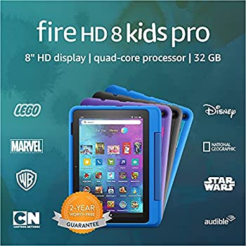 Introducing Fire HD 8 Kids Pro tablet 8  HD ages 6–12 32 GB Doodle