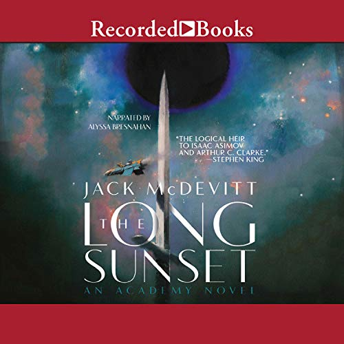 The Long Sunset audiobook cover art