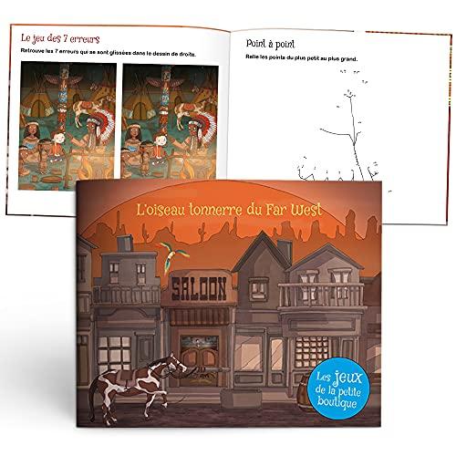 Les Enfant Royal – L'Oiseau Tonnerre du Far West – Spielbuch – Geschenkidee – 4 bis 7 Jahre – weicher Einband – 17 x 20 cm – 12 Seiten – hergestellt in Frankreich