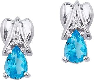 Best pear shaped diamond earrings Reviews