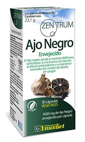Zentrum90 Ajo Negro Envejecido - 30 Cápsulas