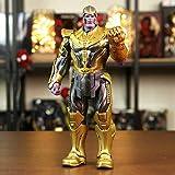 XVPEEN Modelo Marvel Avengers 4 Material De Resina De Vinilo Thanos Modelo De Personaje De Acción Ad...