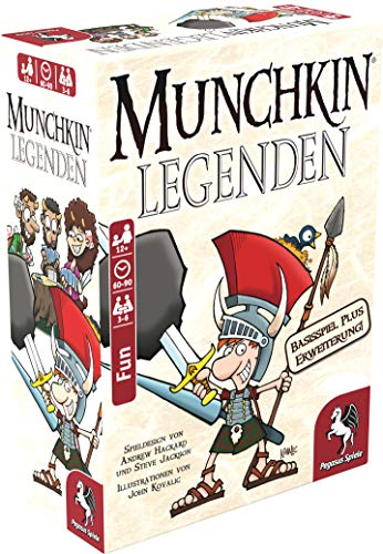 Pegasus Spiele 17238G–Munchkin Leggende 1+ 2, Gioco di Carte