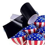 Waterproof Tape, Patch & Seal Tape, Waterproof fix Repair Tape Heavy Duty Duct Tape, Rubberized Roof Tape 4 in x 10 FT (Black)