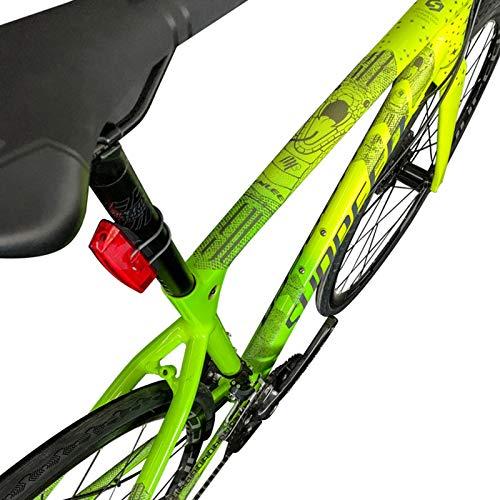 xinzhi Pegatina para Bicicleta, lámina de Bicicleta Marco de Bicicleta Transparente Pegatinas de protección Película para Bicicleta Impermeable - # 2, Viper: Amazon.es: Deportes y aire libre