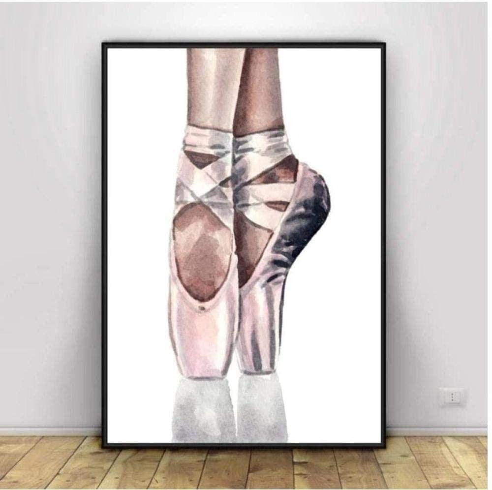 Popular brand in the world Adult Spring new work Counted Cross Stitch Kits Shoes 14CT Holida 40X50CM Ballet