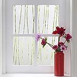 LMKJ Película autoadhesiva protección de luz de privacidad Vinilo Adhesivo Decorativo estático para Ventana, Adecuado para película de Vidrio para el hogar A58 30x200cm