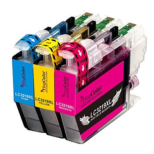 YINGCOLOR LC3219XL LC 3219 Tintenpatronen für Brother LC3219XL LC 3219XL LC3217 Patronen Kompatibel mit Brother MFC J5330DW J5730DW J6930DW J5335DW J5930DW J6530DW J5335DW J6935DW Drucker, 3er Pack