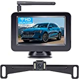 DoHonest Wireless Backup Camera and 4.3'' Monitor Kit, HD Color, Suitable for Cars,SUVs,Minivans,UTVs IP69 Waterproof Rear/Front View Camera - P7