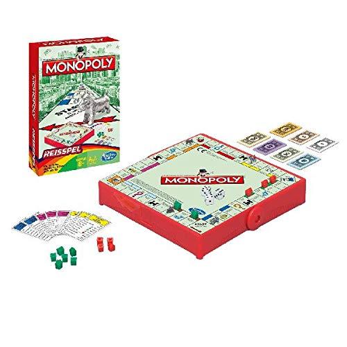 Hasbro Monopoly Grab & Go Wirtschaftssimulation - Brettspiele (Wirtschaftssimulation, Junge/Mädchen, 8 Jahr(e), Mehrfarbig)