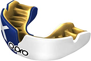 OPRO Power-Fit Countries Junior Mouthguard | Gum Shield for Football, Rugby, Hockey, Wrestling, and Other Combat and Contact Sports - 18 Month Dental Warranty