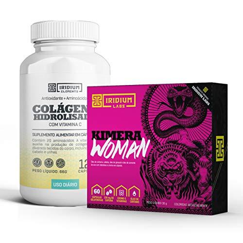 Combo Termogênico Kimera Woman + Colágeno c/Vitamina C - Iridium Labs