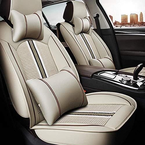 HzvtCtarmsu Asiento de Coche Cubierta para el Mercedes Benz Clase SLC 260 300 200 Confort Transpirab