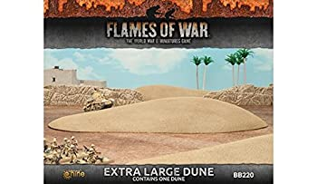 Flames of War Extra Large Dune Fully Painted  1