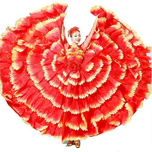 Vestido Flamenco Coral