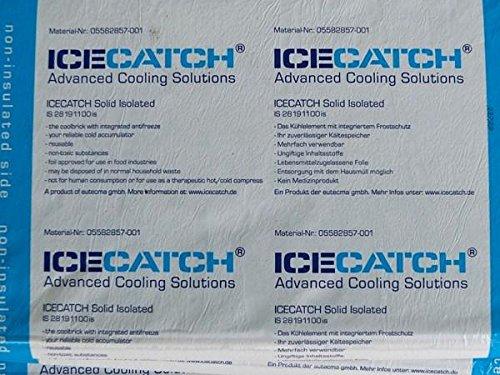 Kühlakku Kühlelemente 1100 g 2 Stück Extra Kühlung 2-8 Grad Bereich
