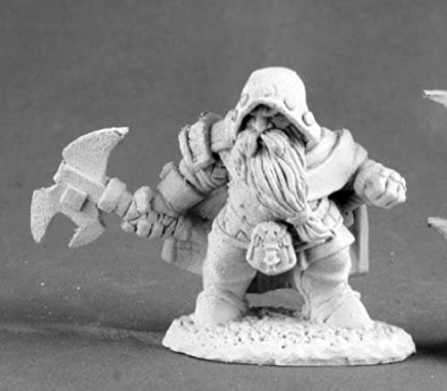 Bregol Jagstone Dwarf Ranger Dark Heaven Legends Series by Reaper