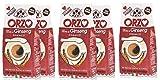 Tre Mori 6 x ORZO al Ginseng 250 gr. - Ginseng - Ginseng Ginseng Moka - Ginseng Espresso - Ginseng d'orzo