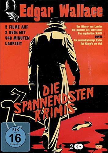 Edgar Wallace - Die spannendsten Krimis [2 DVDs]