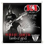 SIT SS-S1046WA - Juego de cuerdas para guitarra eléctrica, 10-48