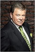 Boston Legal 8 x 10 Photo Boston Legal William Shatner/Denny Crane Grey Suit Green Tie Pose 3 kn