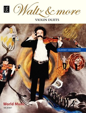Waltz & More: Violin Duets. für 2 Violinen. Spielpartitur