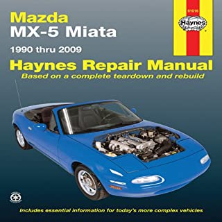 Haynes Mazda MX-5 Miata Automotive Repair Manual: 1990 Through 2009 (Haynes Repair Manual)