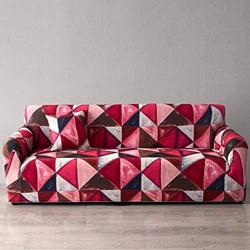 ASCV Funda de sofá Europea con Estampado Floral Fundas de sofá para Sala de Estar Sofá Toalla Funda para Muebles Sillón Funda para sofá A3 3 plazas