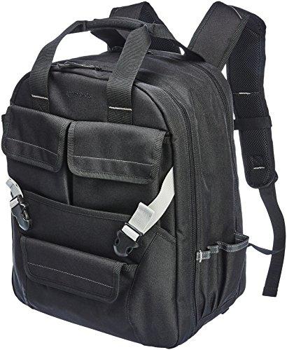 Amazon Basics - Mochila para herramientas, 51 bolsillos con bolsa delantera ajustable
