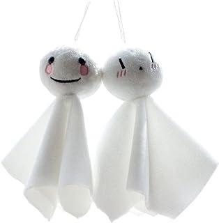 2個セット てるてる坊主 照る照る法師 和風 ぬいぐるみ 吊り飾り かわいい 快晴祈願 夏 人形 飾り グッズ 店内装飾 ディスプレイ 装飾 ガーランド 梅雨