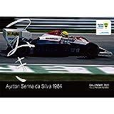 Ayrton Senna (アイルトン セナ) カレンダー 「つみき」 2021年 卓上カレンダー 金子博氏撮影