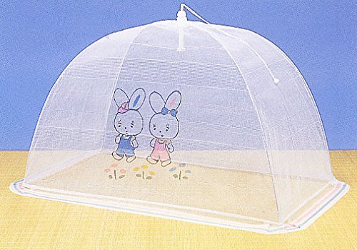 Bed for one-touch mosquito net for baby (two rabbits) [domestic production No.1 manufacturer]