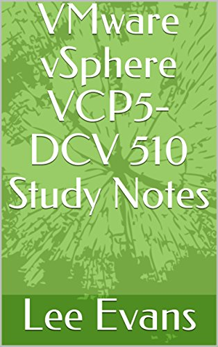 VMware vSphere VCP5-DCV 510 Study Notes (English Edition)