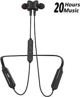 truke Yoga Power in-Ear Neckband Wireless Bluetooth Earphones with Mic (Black)