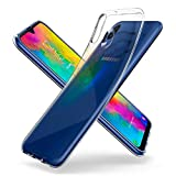 Spigen 610CS26135 Liquid Crystal Kompatibel mit Samsung Galaxy M20 Hülle Transparent TPU Silikon Handyhülle Durchsichtige Schutzhülle Case Crystal Clear