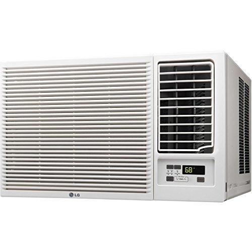LG LW2416HR 23000 BTU 230V Heat Window-Mounted Air Conditioner, 23,000, White