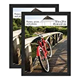 MCS 68959 18x24 Inch Museum Poster Frame, Onyx