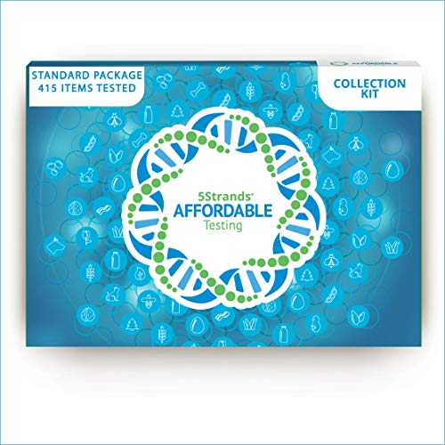 5Strands Adult Standard Test | 415 Total Items | 210 Food & 125 Environmental Intolerances | 80 Nutritional Imbalances | Hair Analysis | Results 1-2 Weeks | Home Collection Kit