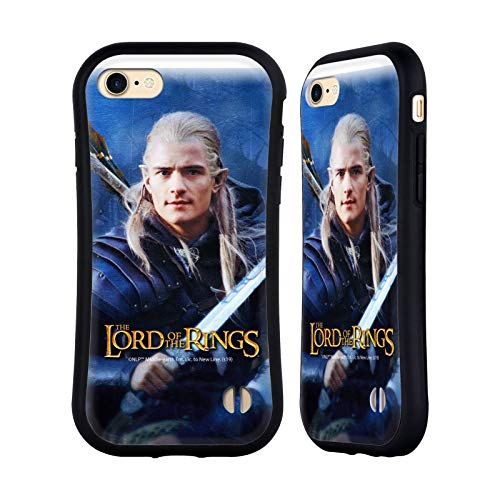 Head Case Designs Ufficiale The Lord of The Rings: The Two Towers Legolas Arte Personaggi Cover Ibrida Compatibile con Apple iPhone 7 / iPhone 8 / iPhone SE 2020