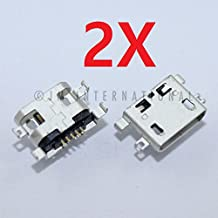 ePartSolution_2X Micro USB Charger Charging Port Dock Connector USB Port for Asus ZenFone 3 Laser ZC551KL Z018D Z01BDC Replacement Part USA Seller