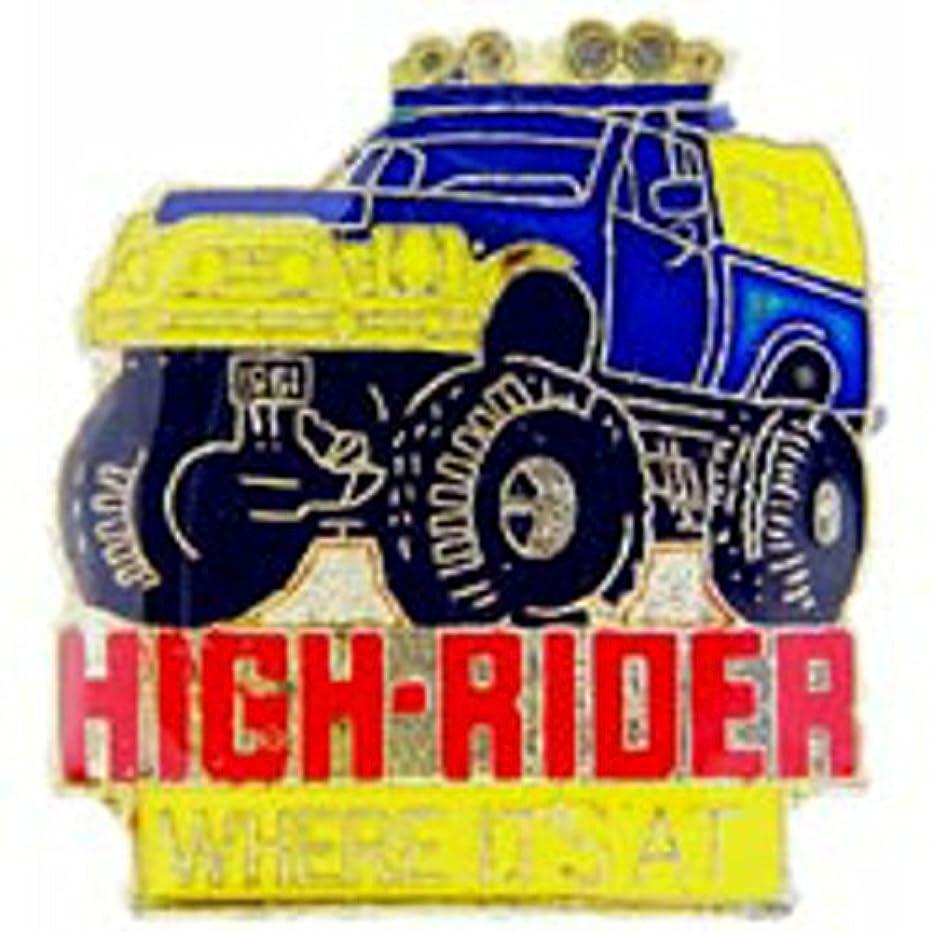 EagleEmblems P63796 Pin-Truck,4X4,High Rider (1'')