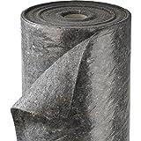 SECOTEC Schutz- und Abdeckvlies 1x 50m   50 m²   Rolle mit PE-Schicht   grau, rutschfeste Unterlage, Abdeckfolie für den Malerbedarf, Renoviervlies