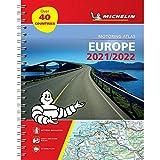 Europe 2021 / 2022 - Tourist and Motoring Atlas (A4-Spiral): Tourist & Motoring Atlas A4 spiral (Michelin Road Atlases)