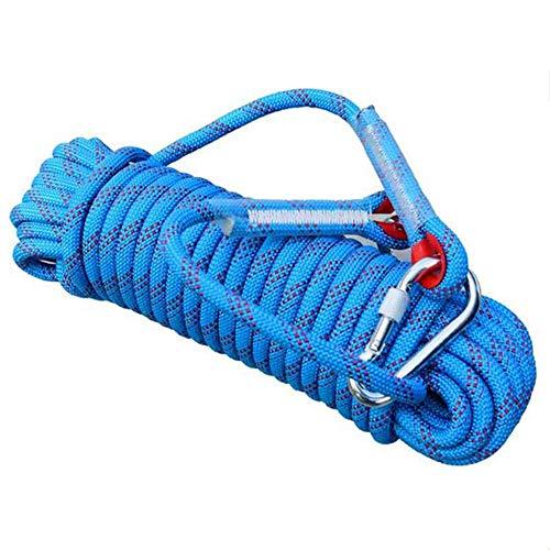 MYF Kletterseil 10,12,14,16,18, m, Outdoor-Notausstieg für Rettungsschirme statisches Seil für den Innenseilklettern,A